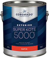 Luhrs True Value Hardware Super Kote 5000 Exterior is designed to cover fully and dry quickly while leaving lasting protection against weathering. Formerly known as Supreme House Paint, Super Kote 5000 Exterior delivers outstanding commercial service.boom